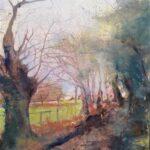 Sussex Lane in Autumn